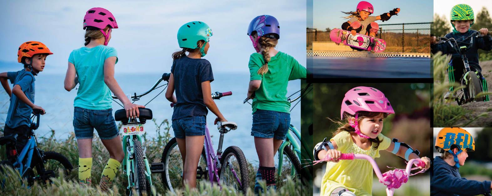 Kaski na rower dla dzieci
